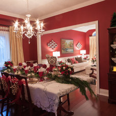 Traditional Dining Room by Katherine Joy Interiors