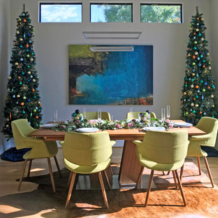 This is an example of a dining room in Dallas.