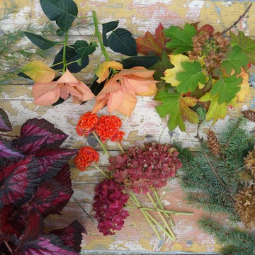 Holiday Floral Design from the Garden & Flower Farm