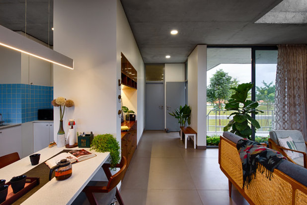 Contemporary Dining Room by ma+rs