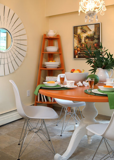 eclectic dining room by maria killam