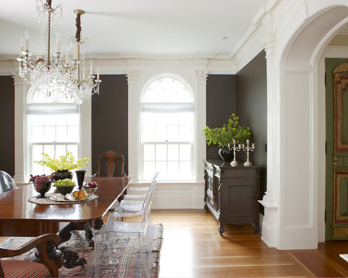 dark dining room floor | houzz