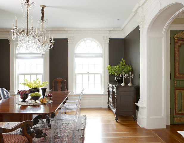 American Traditional Dining Room by Oak Hill Architects