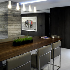 Modern Dining Room by Troy Dean Interiors