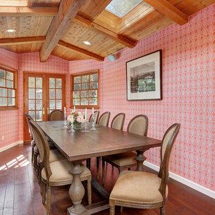 Elegant dining room photo in Los Angeles
