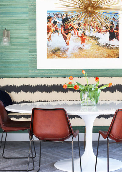 Midcentury Dining Room by Caitlin & Caitlin Design Co.