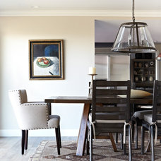 Traditional Dining Room by Janette Mallory Interior Design Inc.
