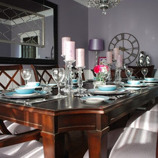 Eclectic Dining Room by JAX Decor & Design