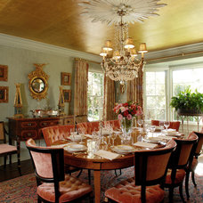 Traditional Dining Room by Timothy Corrigan, Inc.