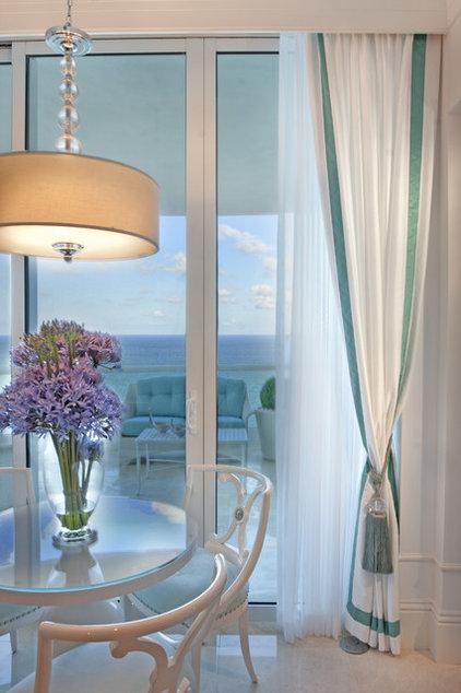 Eclectic Dining Room by DKOR Interiors Inc.- Interior Designers Miami, FL