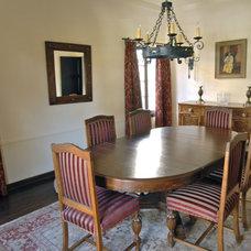 Mediterranean Dining Room by Brenda Olde