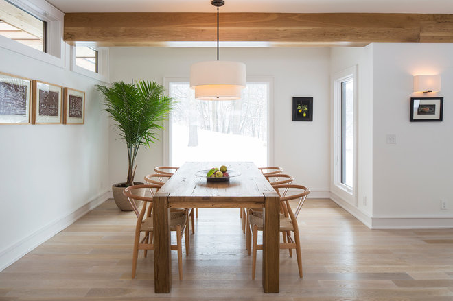 Modern Dining Room by Homes By Architects Tour
