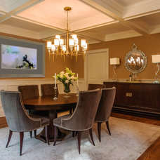 Contemporary Dining Room by Interiors by Just Design