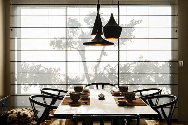Asian Dining Room by Webb & Brown-Neaves