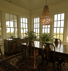 traditional dining room by Alix Bragg Interior Design