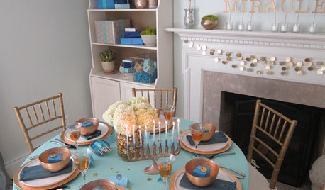 Ideas to Inspire Your Hanukkah Table and Decor