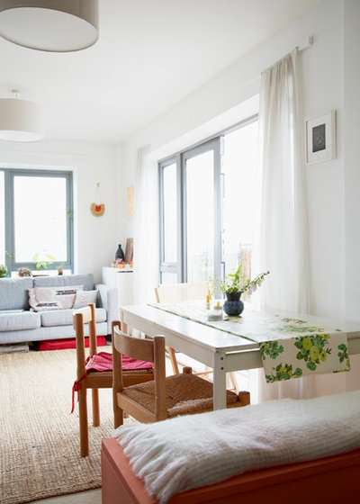 Small Space Living How To Tuck A Dining Area Into A Tiny