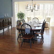 Contemporary Dining Room by Dalene Flooring Carpet One