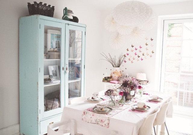 Eclectic Dining Room Home in Copenhagen, Denmark