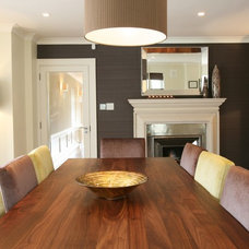 Contemporary Dining Room by Grainne Crowley