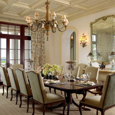 Traditional Dining Room by Edward Lobrano Interior Design Inc.