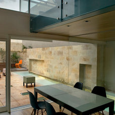 Contemporary Dining Room by Chris Briffa Architects