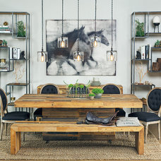 Contemporary Dining Room by High Fashion Home