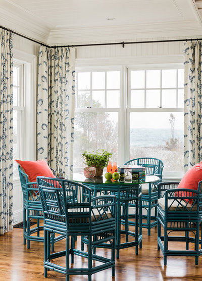 Victorian Dining Room by Katie Rosenfeld Design