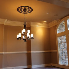 Traditional Dining Room by Rusert Custom Homes