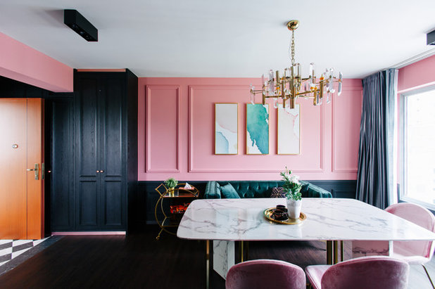 Eclectic Dining Room by Marcus Lim