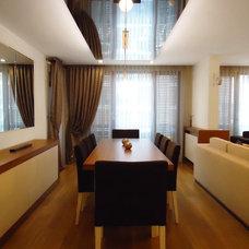 Modern Dining Room by Zeynep Kamacı