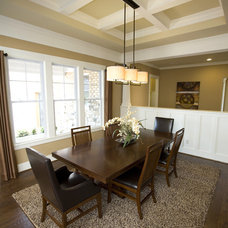 Traditional Dining Room by Kimberly Fox Designs