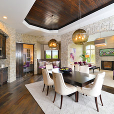 Contemporary Dining Room by Gormans
