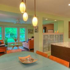 Modern Dining Room by Custom Design/Build, Inc.