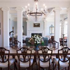 Traditional Dining Room by Linn Gresham Haute Decor