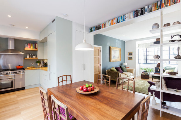 Contemporary Dining Room by Chris Snook