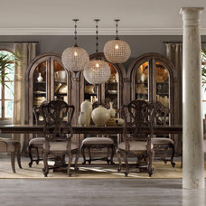 Eclectic Dining Room by Barbara Schaver @ Furnitureland South