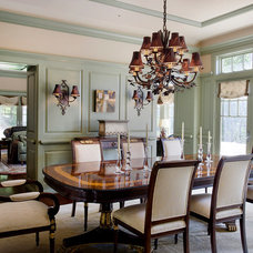 Traditional Dining Room by Catalano Architects