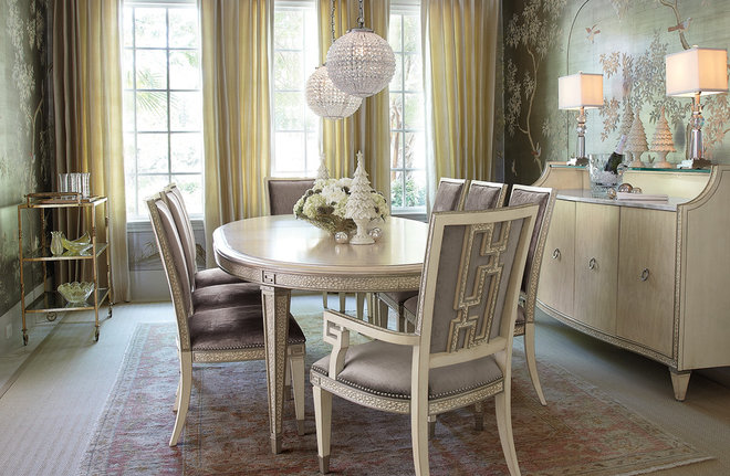Traditional Dining Room by Horchow
