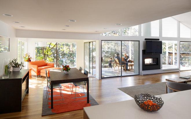 Midcentury Dining Room by Design Platform