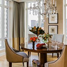 Traditional Dining Room by Terrat Elms Interior Design