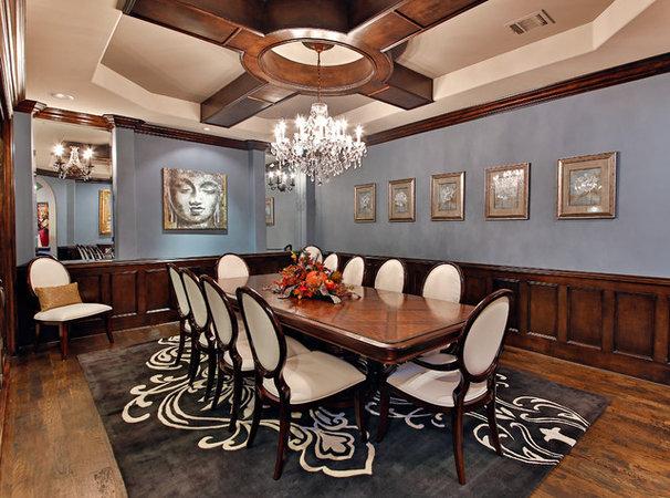 Mediterranean Dining Room by Veranda Fine Homes