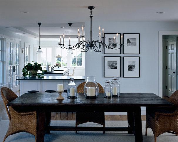 Rustic Dining Room by Polhemus Savery DaSilva
