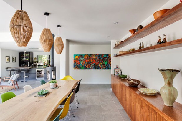 Contemporary Dining Room by Penton Architects