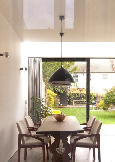Contemporary Dining Room by Flik Design Ltd