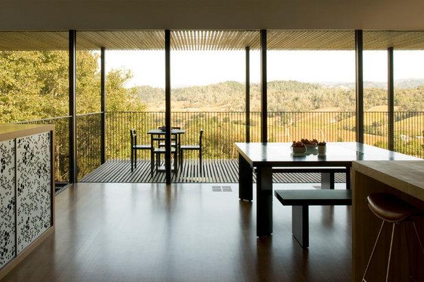 Contemporary Dining Room by Cooper Joseph Studio