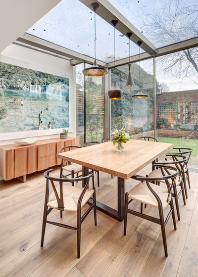 Contemporary Dining Room by Alex Findlater Ltd
