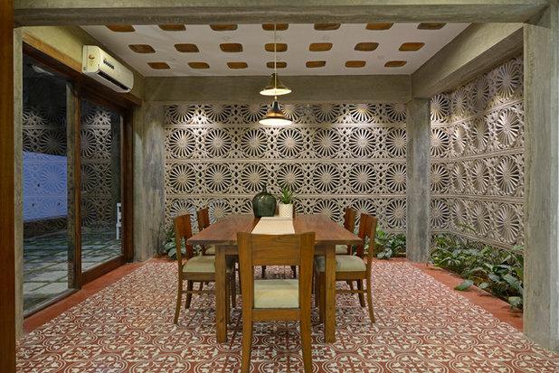 Contemporary Dining Room by Architecture + Design Ankit Prabhudessai