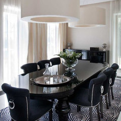 modern dining room by nasciturus design