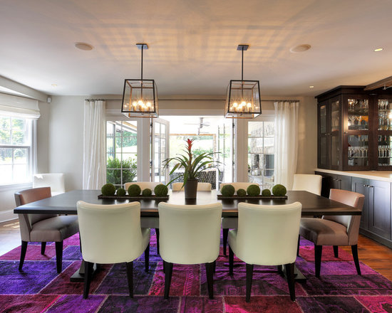 dining room area rug | houzz